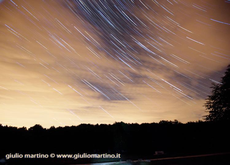 star trails campitelli di sepino