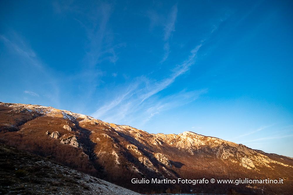 Monti del Matese. Il Mutria  09/02/2020