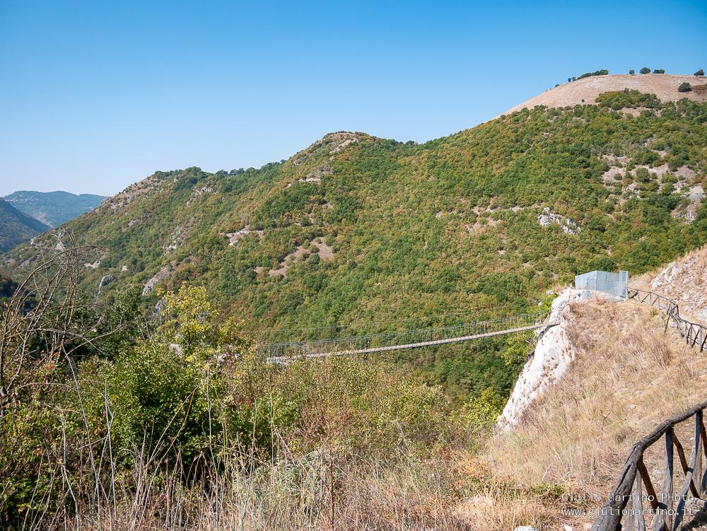 Gole del Platano, da Balvano (PZ) a Ricigliano (SA)